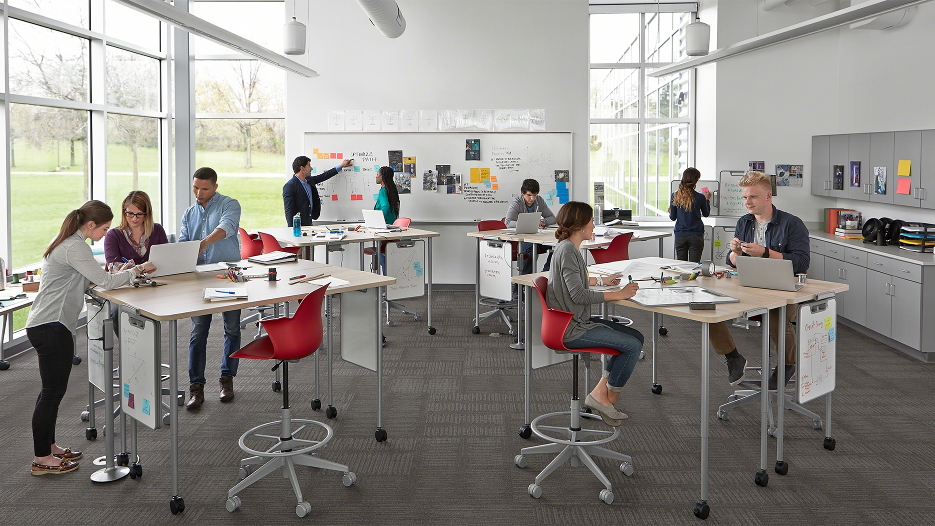 Space Design for Active Learning Classrooms   Steelcase